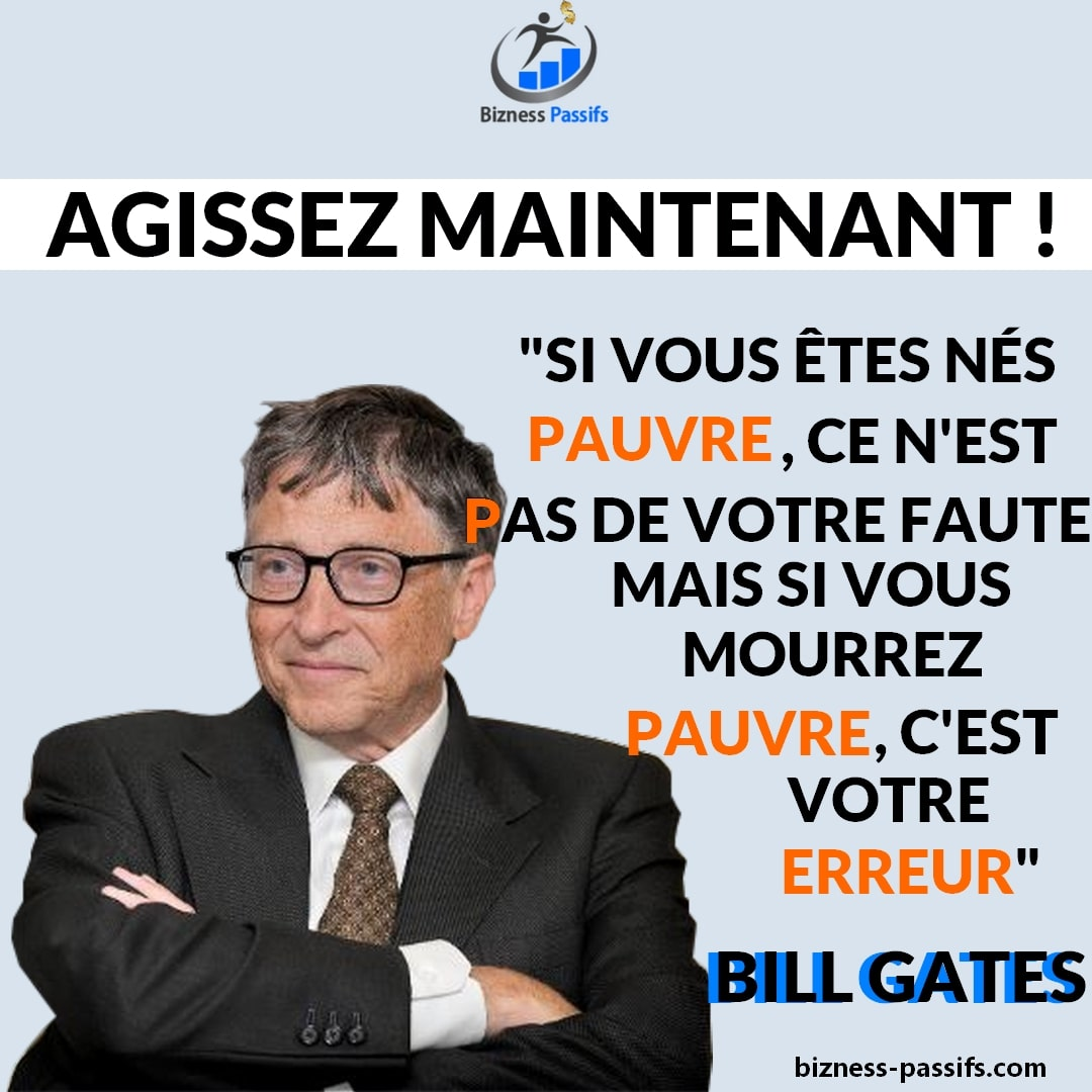 Citation de Bill Gates