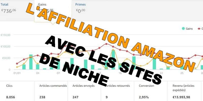 Comment faire de l'affiliation Amazon avec les sites de niche ?